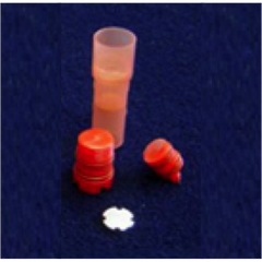 SHREDDER Tube with Metal Lysis Disk, Coral (Box of 100)
