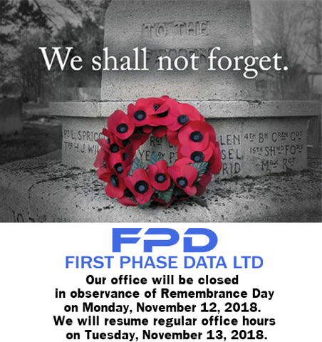 Remembrance Day Closure - First Phase Data