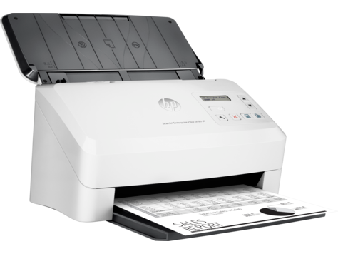 HP  SCANJET ENTERPRISE FLOW 5000 S4 SHEET-FEED SCANNER.