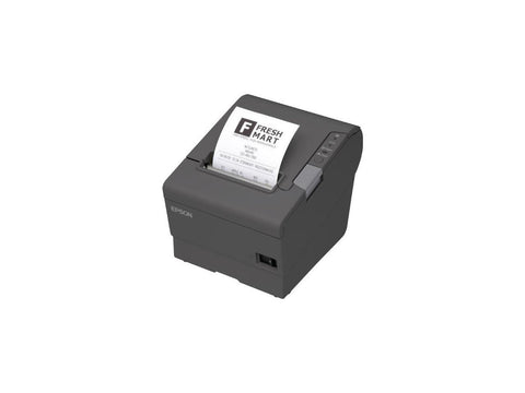 Epson TM-T88V Direct Thermal Receipt Printer PAR Plus USB EDG PWR Energy Star, Monochrome, 5.8