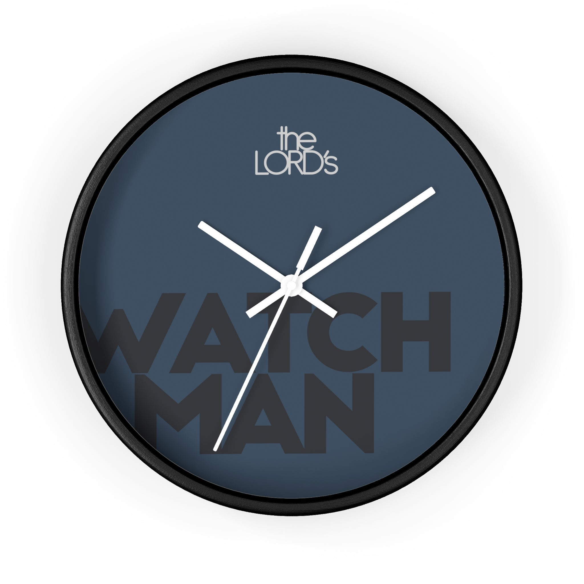 Watchman Midnight Wall Clock