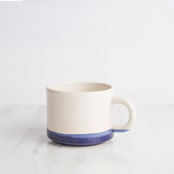 Short Mug in Blue Jean