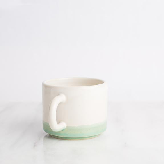 Short Mug in Honeydew