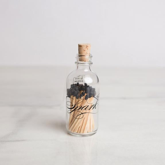 Calligraphy Spark Match Bottle