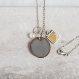 Steel Grey Necklace