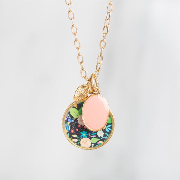 Folk Floral Necklace