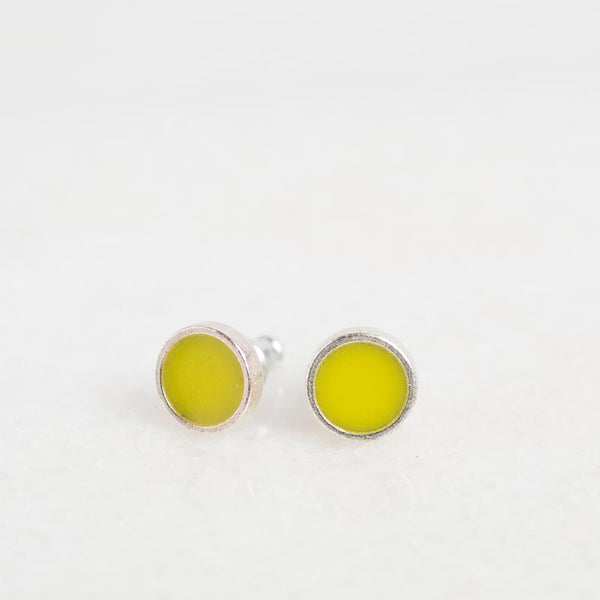 Wild Chartreuse Earrings