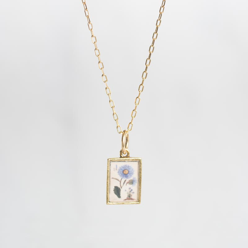 Aster Botanical Necklace