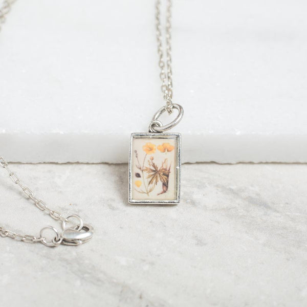 Buttercup Botanical Necklace