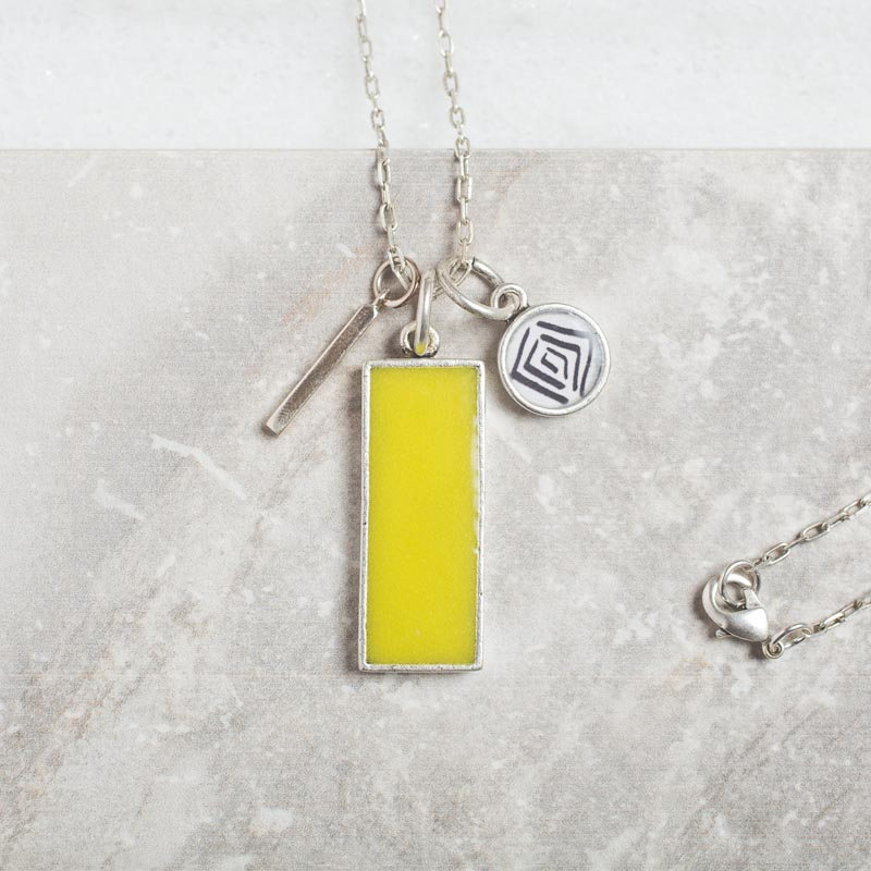 Chartreuse Necklace