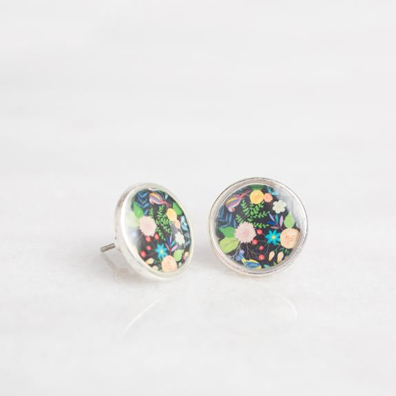 Folk Floral Earrings