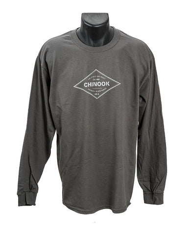 Womans Core Strength Long Sleeve V-Neck