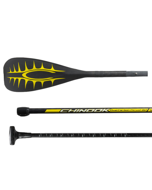 Thrust 82 Traveler 3 piece Adjustable Carbon SUP Paddle with ABS Edge (Available Jan 30th, Pre-orders taken)