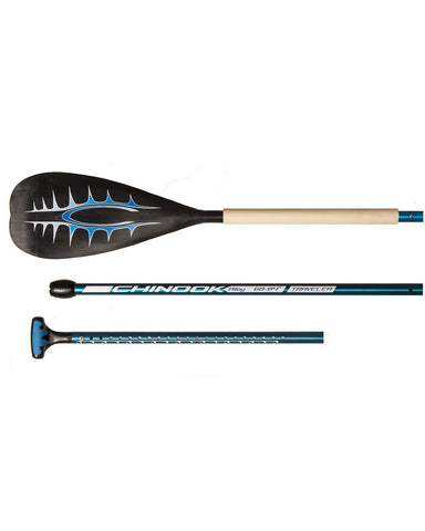 Alloy Large Blade Adjustable SUP Paddle