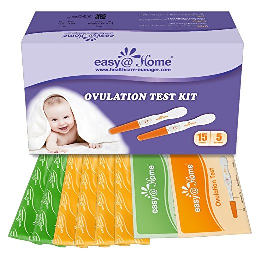 Easy@Home 15 Ovulation (LH) and Plus 5 Pregnancy (hCG) Test Sticks