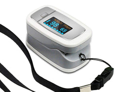 Easy@Home Deluxe Fingertip Pulse Oximeter OLED Display, #EHP50D1