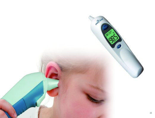 Easy@Home Digital Infrared Ear Thermometer with Fever Alarm for children or adult #EET-302