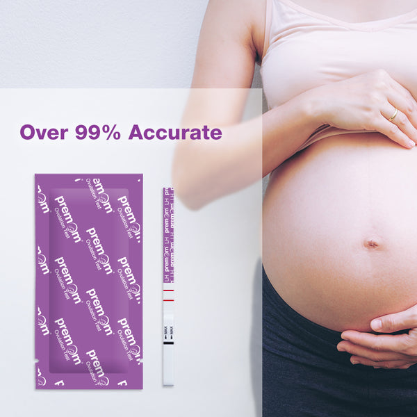 Ovulation tests are 99% accurate at detecting your LH surge.