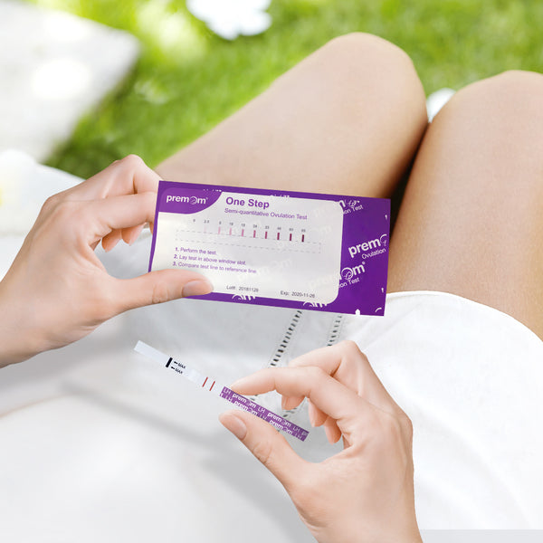 How to read a premom quantitative ovulation test strip.