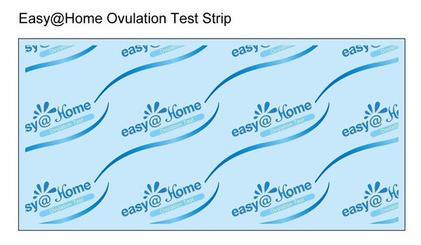 Easy@Home 100 Ovulation Test Strips and 40 Pregnancy Test Strips Kit-The Reliable Ovulation Predictor Kit (100 LH + 40 HCG), Powered by Premom Ovulation Predictor iOS and Android App