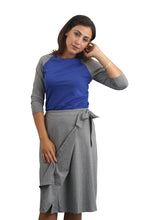 Wrap Skirt - Heather Grey