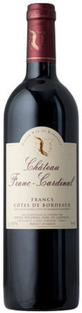 Chateau Franc-Cardinal Bordeaux 2015 - red