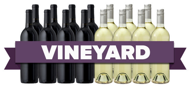 Groupon Overstock Vineyard 15-Pack - Red