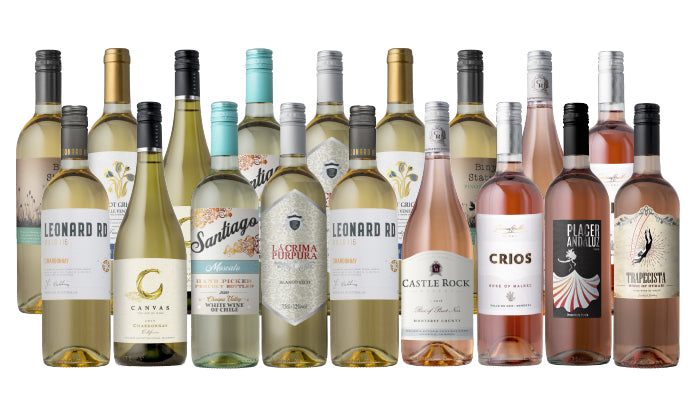 UPGRADE: Groupon Whites & Rosés Mega 18-Pack