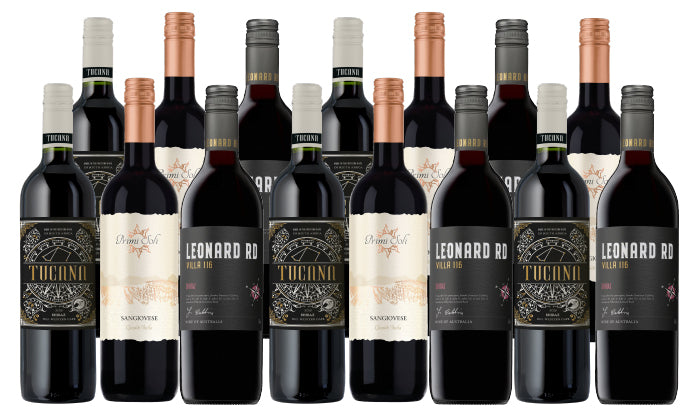 Groupon Until Next Time Wines for the Holiday 15-Pack - Red