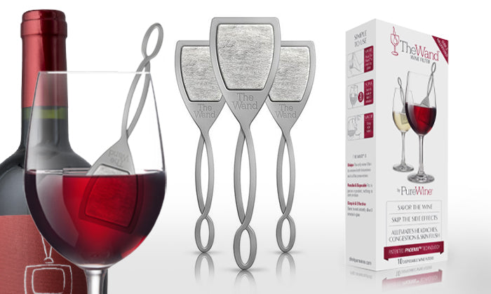 PureWine Filtering Wands - 8-Pack