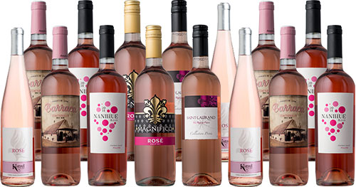Summer Rosé Sampler 15-Pack