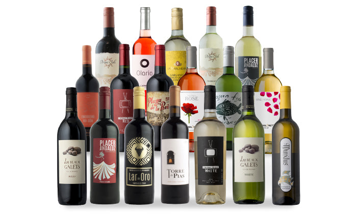 Groupon Top 18 Wines of 2018 18-Pack - White