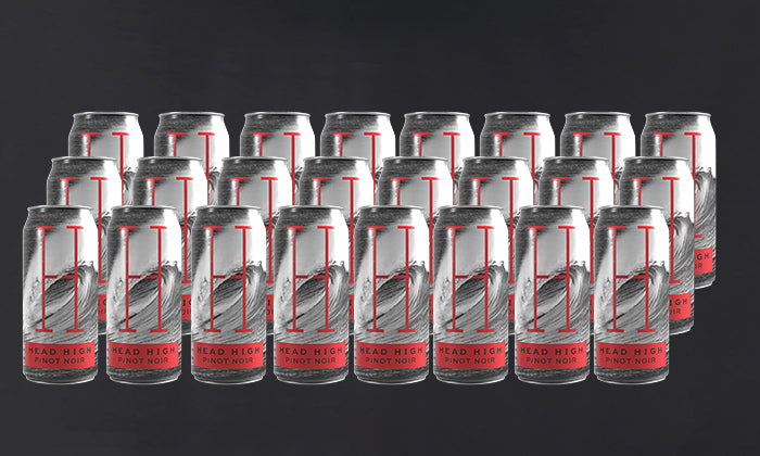 Head High Canned Pinot Noir 24-Pack Groupon Special