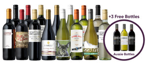 15 Premium Wines for $6.99 Each + You Pick 3 FREE Bottles!