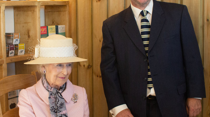 A Royal Visit for Norton Barton Artisan Food Village