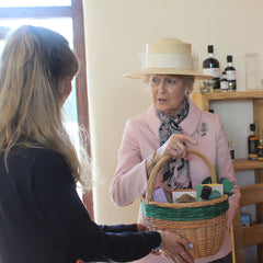 A royal visit at Norton Barton Artisan Food Village