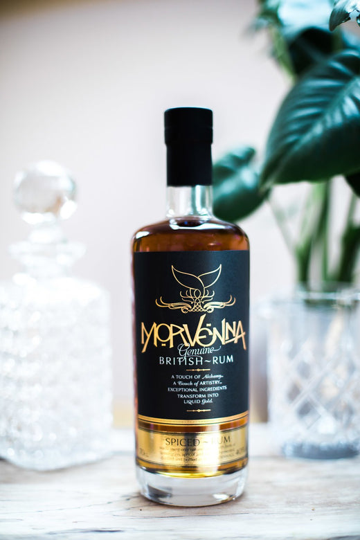 20cl bottle of Morvenna Cornish Spiced Rum