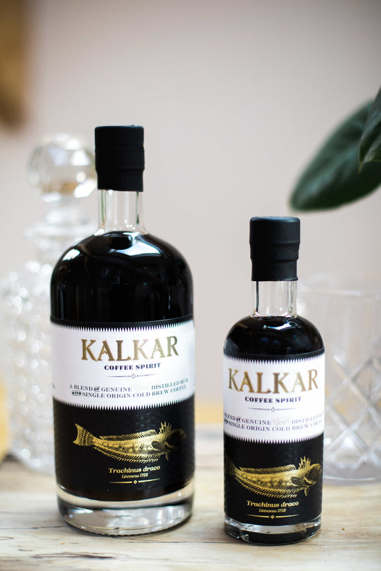 20cl bottle of Kalkar Coffee Rum