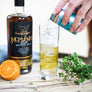 Morvenna spiced Cornish rum mixed with tonic