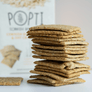 Cornish Buttermilk and Oat crackers for cheese from popti cornish bakehouse