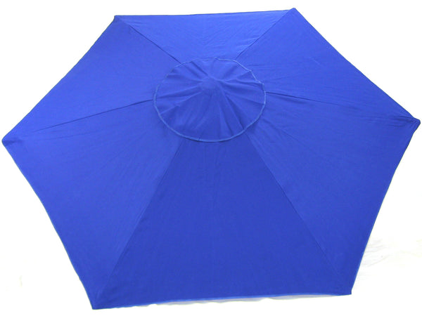 6.5' Beach Umbrella Cobalt Market Umbrella SPF 100