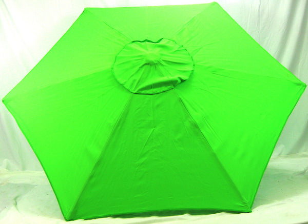 6.5' Beach Umbrella Lime Market Umbrella SPF100