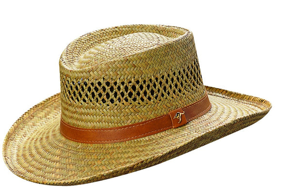 Men's Gambler Hat with band Dorfman Pacific