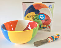 Dip and Spreader Beach Ball set from Boston Warehouse