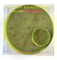 Flamingo Chip and Dip set from Boston Warehouse