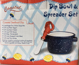 Lobster Pot Dip and Spreader set from Boston Warehouse