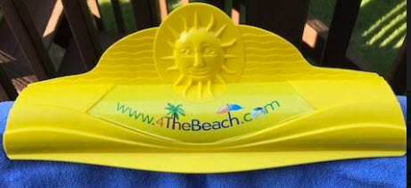 Deluxe Beach Towel Beach Chair Clip