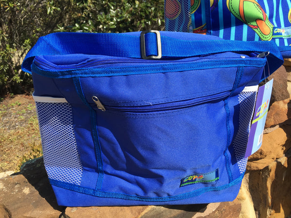 Cooler Copa Collapsible Blue