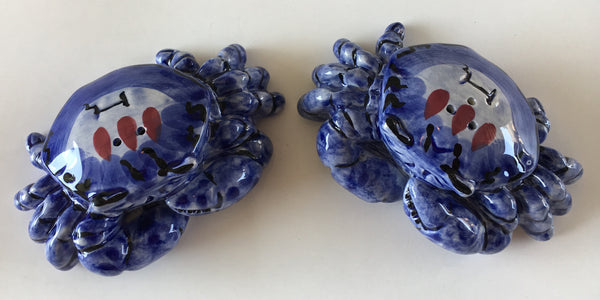 Blue Crab Salt and Pepper set