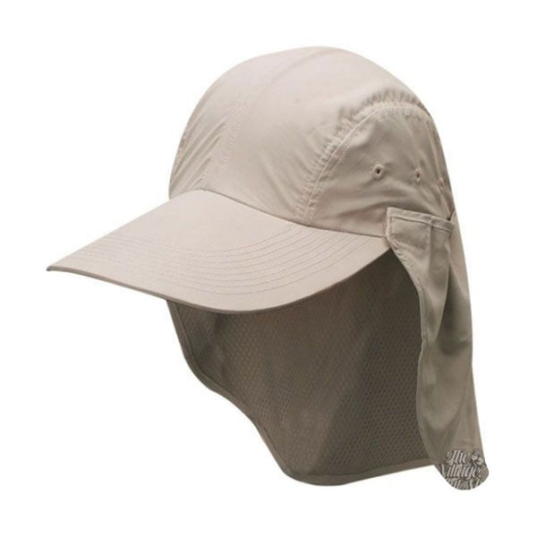Dorfman Pacific Womens Sun Hat with Neck Flap UV Protection